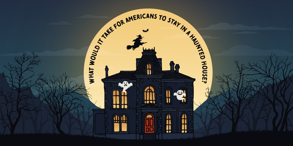 What Would it Take for Americans to Stay in a Haunted House?